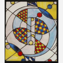 Vladimir Bulatov Stained Glass Panel #3